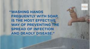石鹸手洗いは効果的